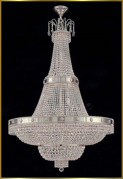 & Large Crystal Chandeliers Gallery Model: CS 7115 CH