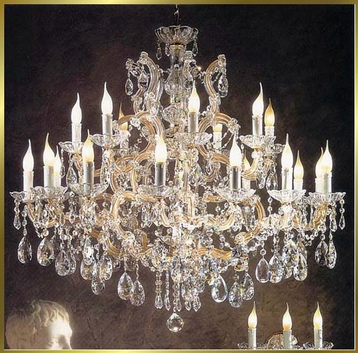 Maria Theresa Chandeliers: Chandelier Model: BB 930-21,Lighting