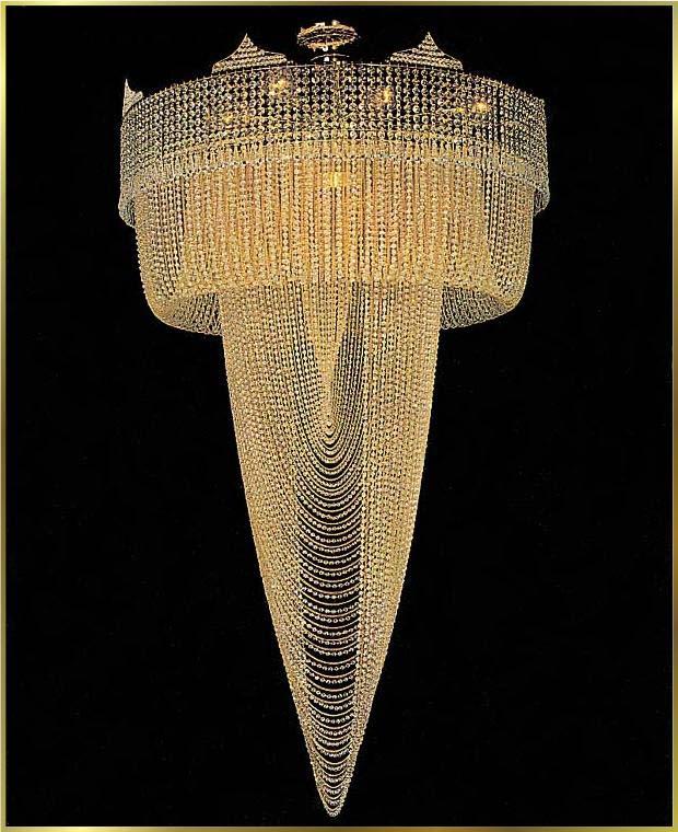 Large crystal chandeliers gallery model lu 66004 for 66004