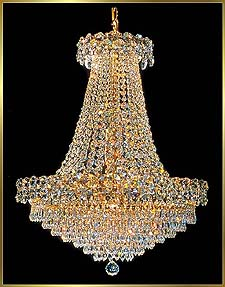 Crystal Chandeliers Model: 4575 E 22