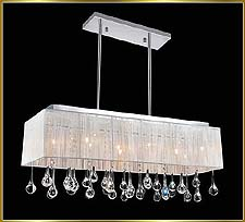 Contemporary Chandeliers Model: CW-1000