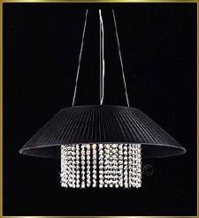 Chandelier Model: 5016P22C-BLACK