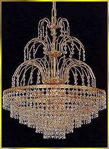 Crystal Chandeliers Model: 5400 E 20