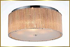 Flush Mount Chandeliers Model: CW-1100