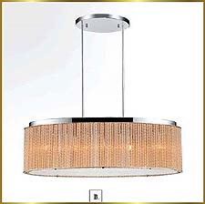Contemporary Chandeliers Model: CW-1104