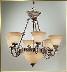 Designer Chandeliers Model: CL-68107 EB-SSG