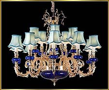 Antique Crystal Chandeliers Model: FS-8976-15