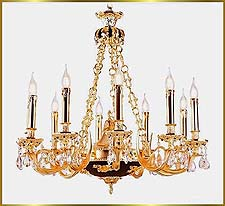 Antique Crystal Chandeliers Model: FS-9005-10