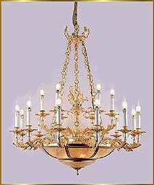 Antique Crystal Chandeliers Model: FS-9008-18
