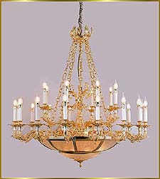 Antique Crystal Chandeliers Model: FS-9008-24