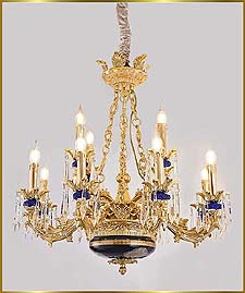 Antique Crystal Chandeliers Model: FS-9020-12