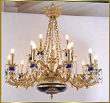 Antique Crystal Chandeliers Model: FS-9020-15