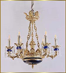 Antique Crystal Chandeliers Model: FS-9020-6