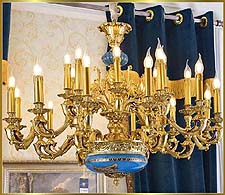 Neo Classical Chandeliers Model: FS-9033-24
