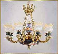 Neo Classical Chandeliers Model: FS-9034-8