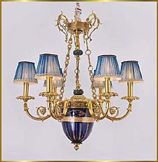 Antique Crystal Chandeliers Model: FS-9036-6