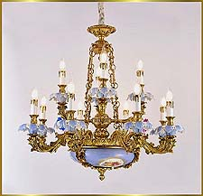 Antique Crystal Chandeliers Model: FS-9050-12