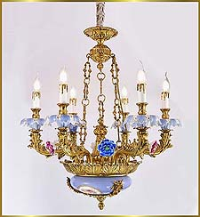 Neo Classical Chandeliers Model: FS-9050-6