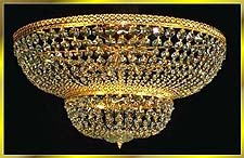 Flush Mount Chandeliers Model: 9200 FM 24