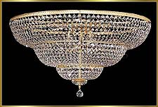 Large Chandeliers Model: 9200 FM 36