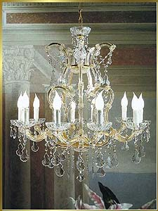 Maria Theresa Chandeliers Model: BB 6300-10