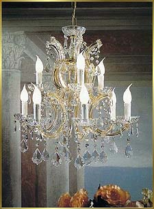 Maria Theresa Chandeliers Model: BB 6302-9