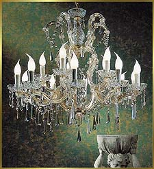 Maria Theresa Chandeliers Model: BB 6307-15