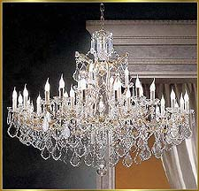 Maria Theresa Chandeliers Model: BB 910-44