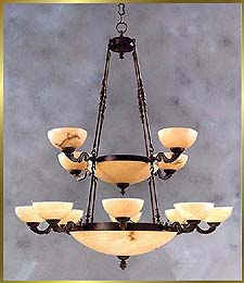 Alabaster Chandeliers Model: CL 2100
