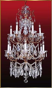 Crystal Chandeliers Model: MG-5650