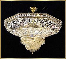 Flush Mount Chandeliers Model: CS 7060