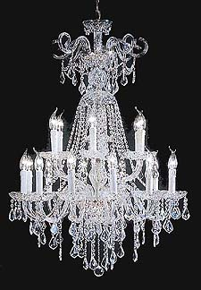 Traditional Chandeliers Model: DREAM 18L
