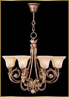 Wrought Iron Chandeliers Model: G20006-8