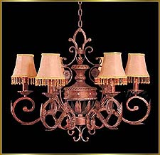 Wrought Iron Chandeliers Model: G20018-6