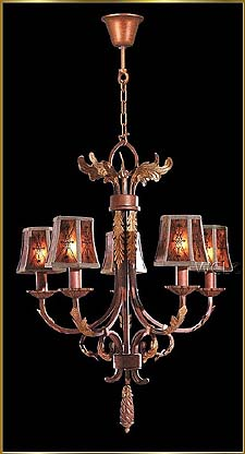Wrought Iron Chandeliers Model: G20022-5