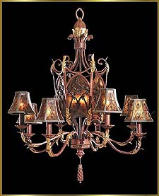 Wrought Iron Chandeliers Model: G20024-8-3