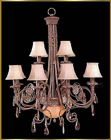 Wrought Iron Chandeliers Model: G20035-8-4-2