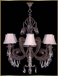 Wrought Iron Chandeliers Model: G20070-8