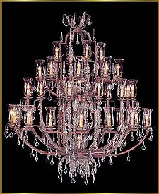 Wrought Iron Chandeliers Model: G20085-42