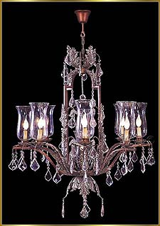 Wrought Iron Chandeliers Model: G20085-8-1