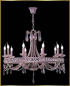 Wrought Iron Chandeliers Model: G20109-10