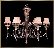 Wrought Iron Chandeliers Model: G20178-6