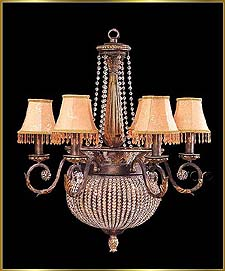 Wrought Iron Chandeliers Model: G20191-8
