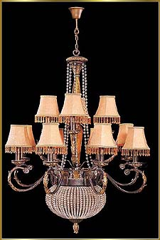 Wrought Iron Chandeliers Model: G20191-14