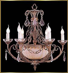 Wrought Iron Chandeliers Model: G20295-6-3-2