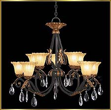 Wrought Iron Chandeliers Model: G20372-5-5