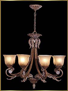 Wrought Iron Chandeliers Model: G20389-8