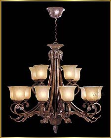 Wrought Iron Chandeliers Model: G20395-10-5