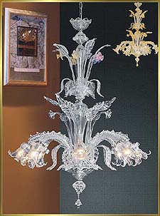 Murano Chandeliers Model: HY9930-8CL