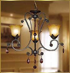 Neo Classical Chandeliers Model: KB0003-3H